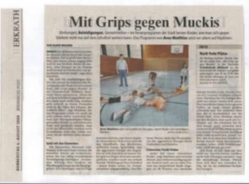 Rheinische Post 06.08.2009